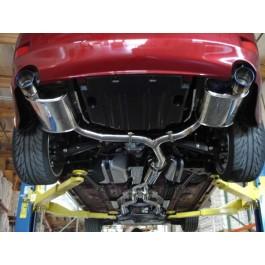 Lexus IS250/350 Megan Racing Axle Back Rear Exhaust