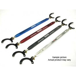 Accord 90-97 2D Megan Racing Rear Upper Strutbar Gunmetal