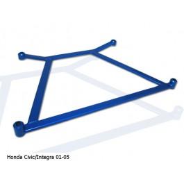 Honda Civic/Integra 01-05 Megan Racing Front H-Brace Blue