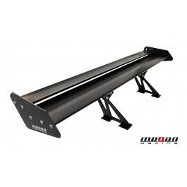 Universal GT Aluminium Spoiler Black 142cm Megan Racing