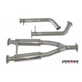 Infiniti M35/M45 05+ Stainless Steel Midpipe Megan Racing