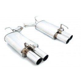 Infiniti M35/M45 05+ Dual Axle Back Exhaust Megan Racing