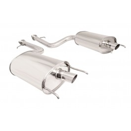 Lexus LS460 07+ Dual Axle Back Exhaust Megan Racing